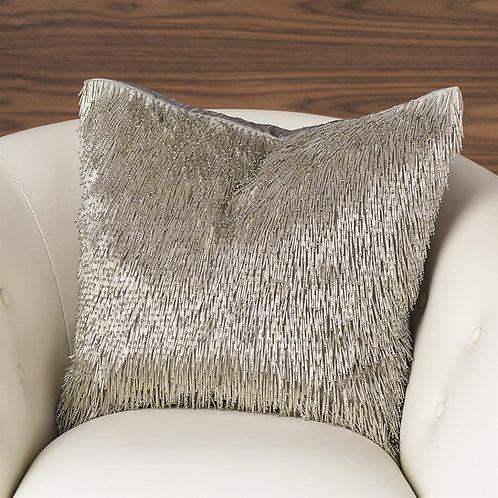 Shimmy Fringe Pillow