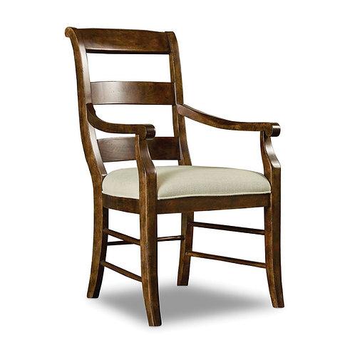 Archivist Ladderback Arm Chair (Set of 2)