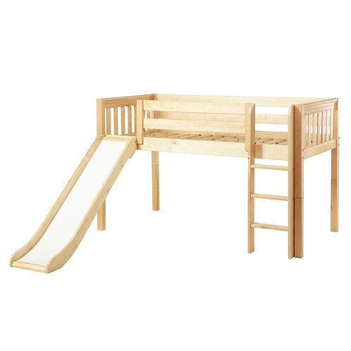Maxtrix (低) 高架床 + 直梯 + 滑梯 (多款可選)
