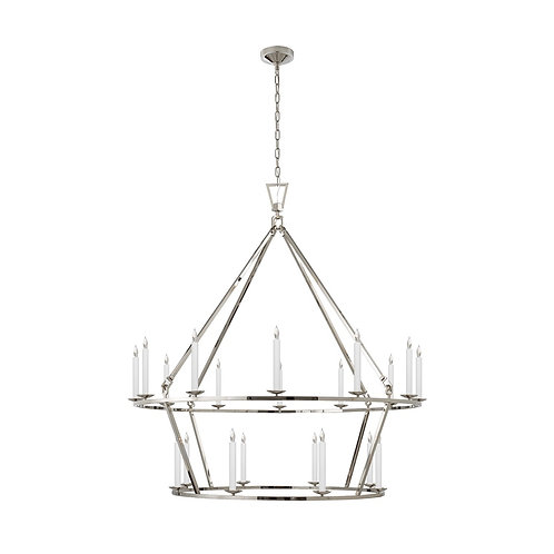 Darlana Extra Large Two-Tier Chandelier (E. F. Chapman Collection, More Options)