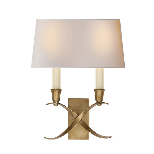 Cross Bouillotte Small Sconce (E. F. Chapman Collection, More Options)