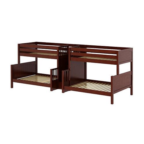 Maxtrix (中) TWIN+FULL 雙排雙層床 + 箱梯 (多款可選)
