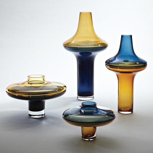 Amber / Cobalt Vase (More Options)