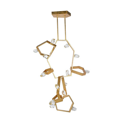 Ashton Chandelier - Vertical (Ashley Childers Collection)