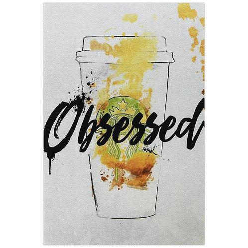 Coffee Obsessed Glitter