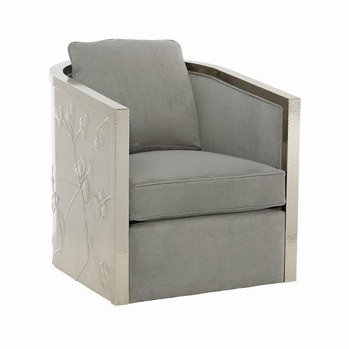 Sasha Leather Swivel Chair