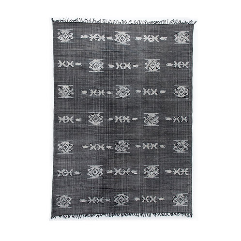 Tribal Faded Black Rug (多款可選)