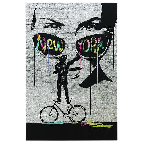 New York Wall Glitter