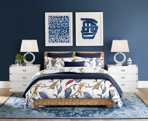 Tropical Chic - Bedroom