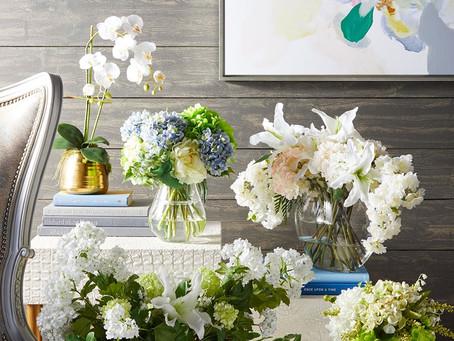 立春,大地回春的時機點,用美麗的花朵盆栽來開運