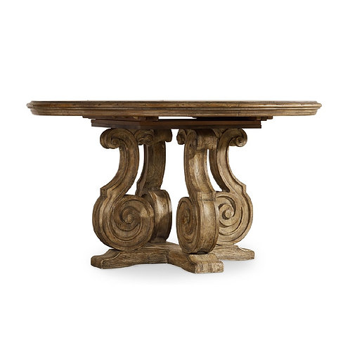 Solana 54in Pedestal Dining Table