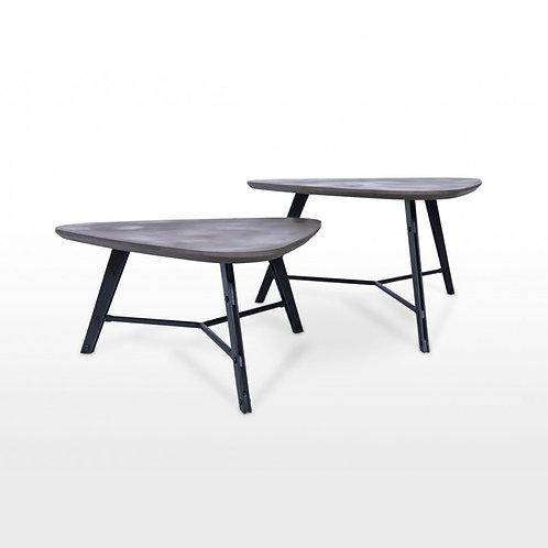Fekner Concrete Coffee Table Set