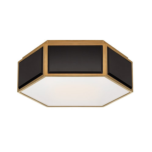 Bradford Small Hexagonal Flush Mount (Kate Spade NY Collection, 多色可選)