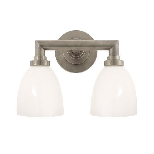 Wilton Double Bath Light (E. F. Chapman Collection, More Options)