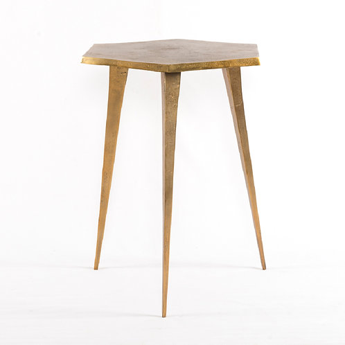 Hex End Table