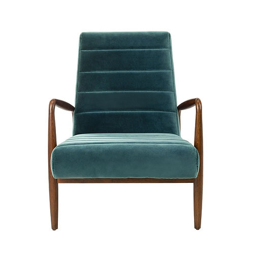 Willow Channel Tufted Chair