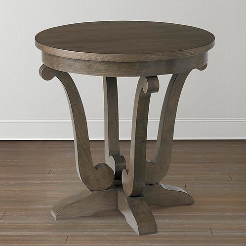 [客廳組合 C] Provence Round Lamp Table 2