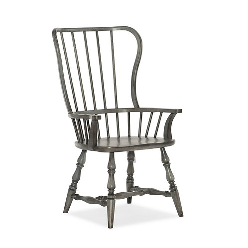 Ciao Bella Spindle Back Arm Chair (Set of 2)