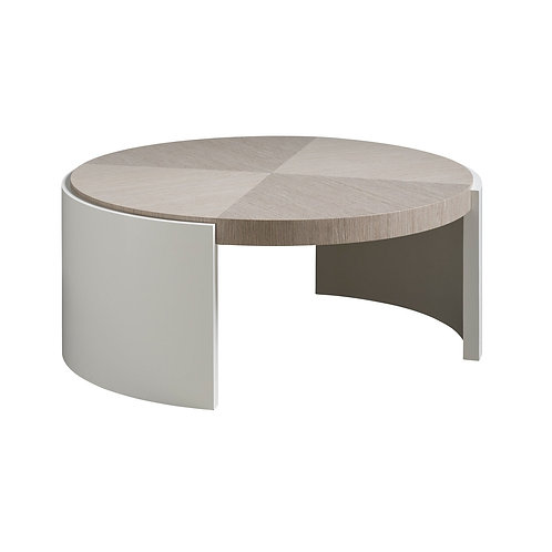 Modern Round Cocktail Table
