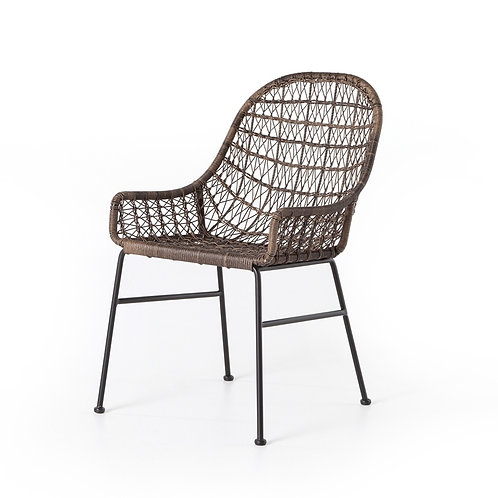 Bandera Outdoor Woven Dining Chair 2