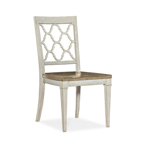 Montebello Wood Seat Side Chair (Set of 2)