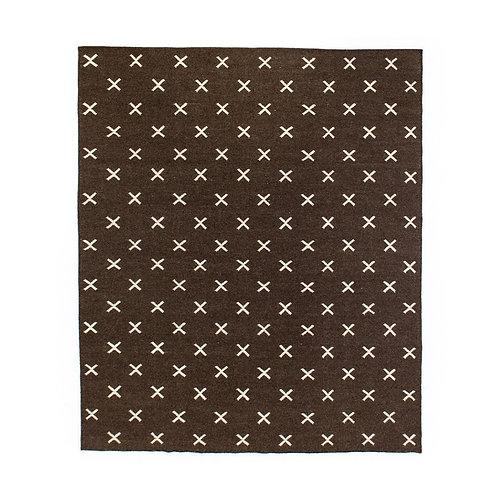Dark Brown Cross Rug (多款可選)