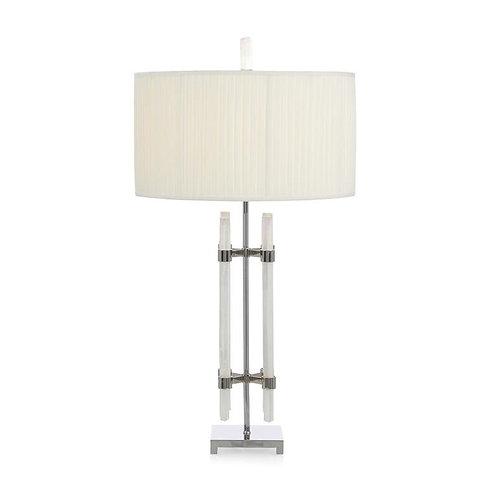 Selenite Tube Table Lamp