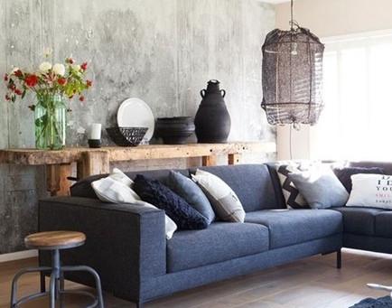 水泥牆的質樸與純粹
