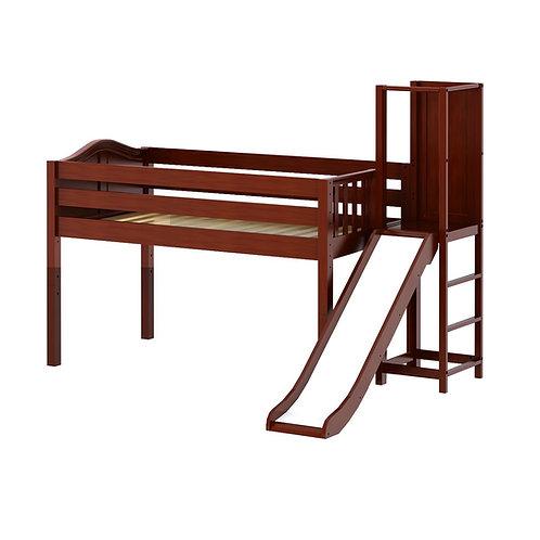 Maxtrix (低) 高架床 + 平台溜滑梯 - TWIN (多款可選)