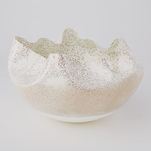Cambrian Bowl - Ivory/Sand