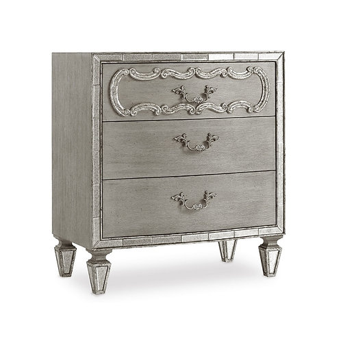 Sanctuary Three Drawer Nightstand