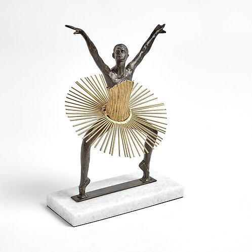 Bauhaus Squatting Ballerina