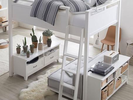 房間空間不夠,想幫家中的小大人找高架床?看這裡就對了!