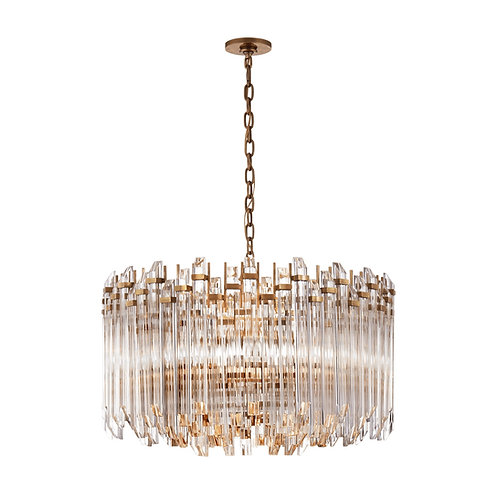 Adele Large Wide Drum Chandelier (Suzanne Kasler Collection, More Options)