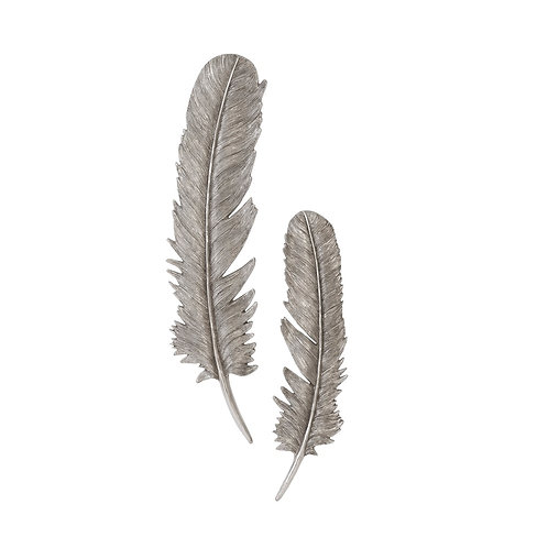 Feathers Wall Art 4 - Large (Set of 2)