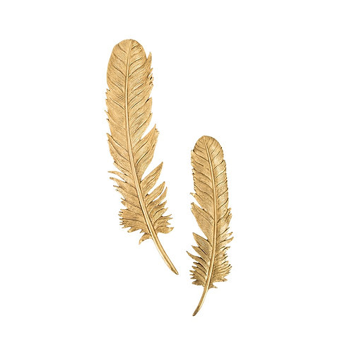 Feathers Wall Art 2 - Large (Set of 2)