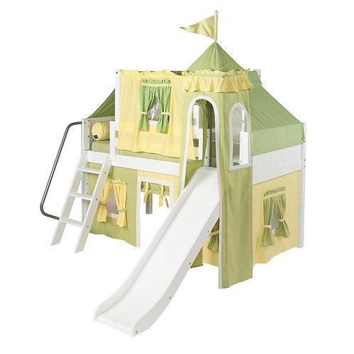 Maxtrix (低) 高架床 + 扶梯 + 滑梯 + 塔樓套組 - TWIN (多款可選)
