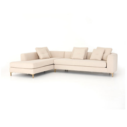 Greer Sectional w/ Bumper Chaise (More Options)