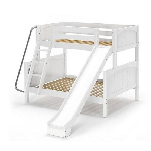 Maxtrix (中) TWIN+FULL 雙層床 + 扶梯 + 滑梯 (多款可選)