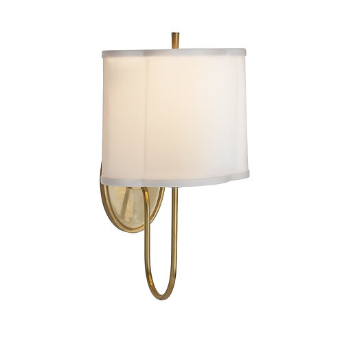 Simple Scallop Wall Sconce (Barbara Barry Collection, 多色可選)