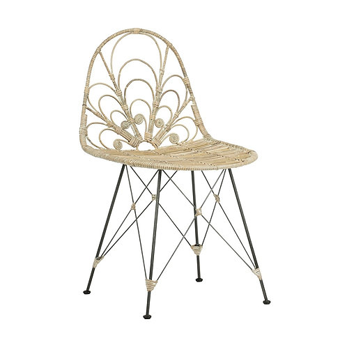 Mabel Rattan Dining Chair (Set of 2)