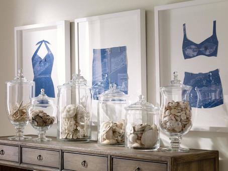從普通的玻璃罐變身成桌上的藝術作品
