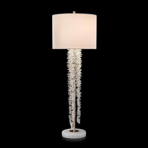 Cascading Crystal Waterfall Table Lamp 2