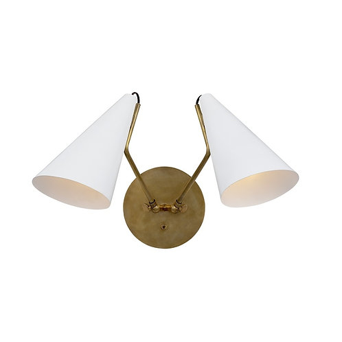 Clemente Double Sconce (AERIN Collection, 多色可選)