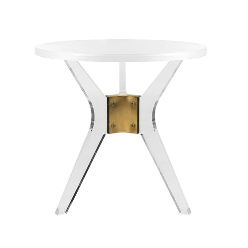 Werner Acrylic End Table