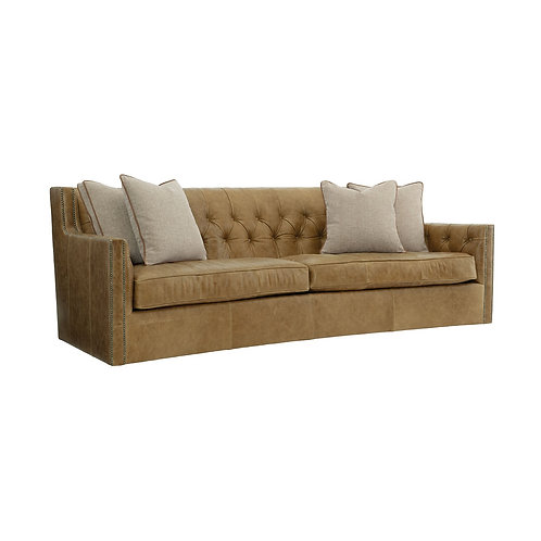 Candace Leather Sofa 2