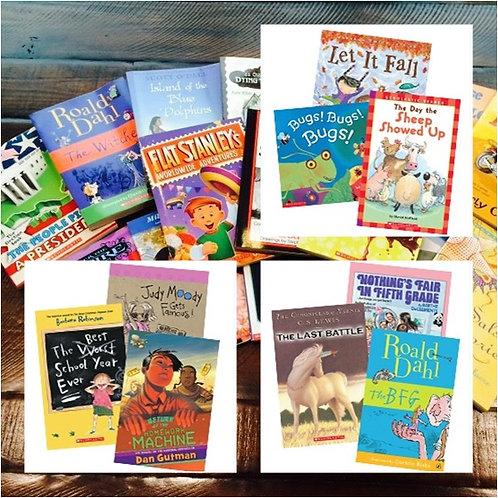 Scholastic 優良英文套裝童書 (多款可選)
