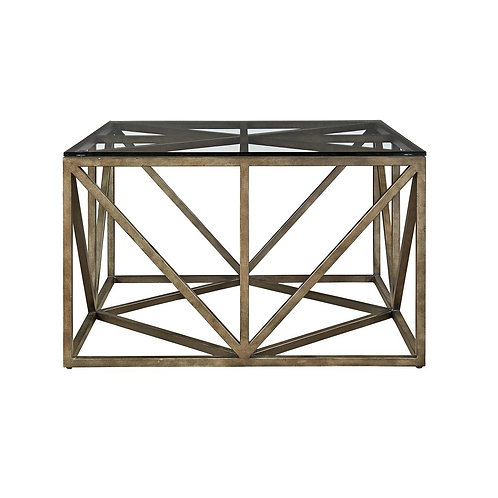 Authenticity Truss Square Cocktail Table