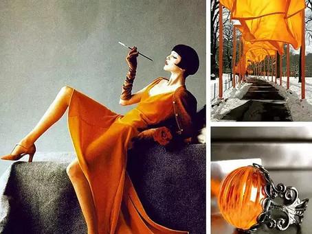 Color 灰+橘