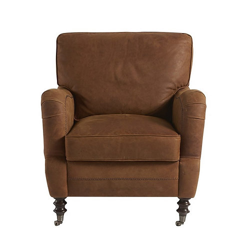 Brice Leather Accent Chair